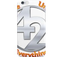 42 - The Ultimate Answer iPhone Case/Skin