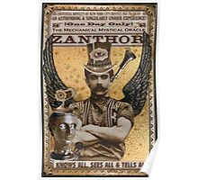 Steampunk Oracle - Zanthor Sees All Poster