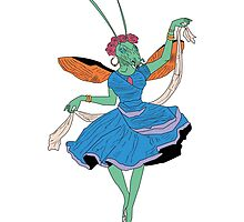 GRACE THE GRASSHOPPER. by Charles  Perry