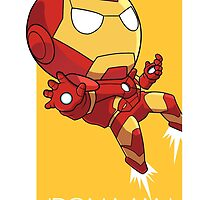 Iron Man by gunyuloid