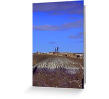 Humans and Nature Greeting Card