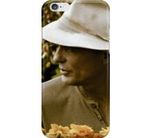 A Man Who Loves Flowers iPhone Case/Skin