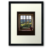 A View to a Hill Framed Print