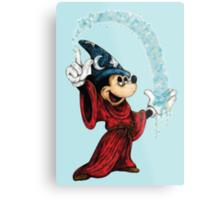 Sorcerer Mickey - Stardust Metal Print