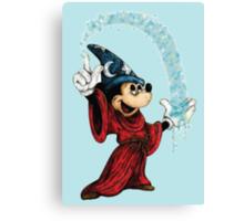 Sorcerer Mickey - Stardust Canvas Print
