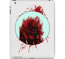 Blood Mist Warrior iPad Case/Skin