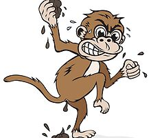 """Vengeance Monkey"" By HippoAwesomeness by CaffeineBlitz"