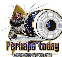 """Klingon VS Toilet Paper"" By HippoAwesomeness by CaffeineBlitz"