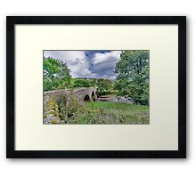 Swaledale Packhorse Bridge Framed Print