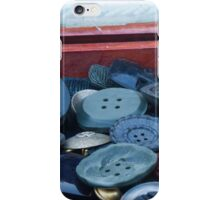 old buttons iPhone Case/Skin