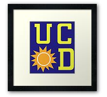 UC Sunnydale (accurate artwork) Framed Print