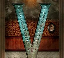 Steampunk - Alphabet - V is for Victorian by Mike  Savad