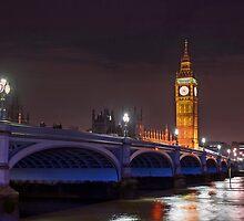 Big Ben, London At Night by mattyTPhotos