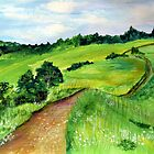 A long way by Elizabeth Kendall