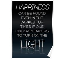 HARRY POTTER Quote by Albus Dumbledore Poster
