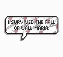 I survived The Fall of Wall Maria by SirensAwoken