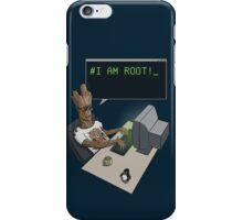I am Root! iPhone Case/Skin