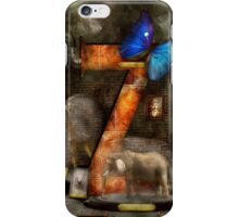 Steampunk - Alphabet - Z is for Zoology iPhone Case/Skin