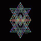 Star of David Fractal 21J by sdavis by mandalafractal