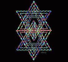 Star of David Fractal 21J by sdavis by mandalafractal