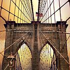 Brooklyn Bridge Sunrise by Jessica Jenney