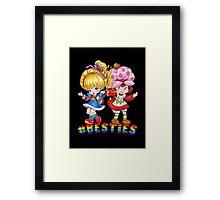 Besties Framed Print
