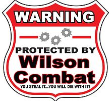 Wilson Combat Protected by Wilson Combat by gungifts