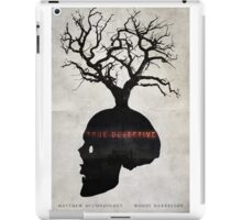 Fragility - True Detective Poster iPad Case/Skin