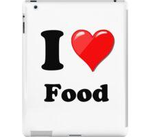 I Love Food iPad Case/Skin