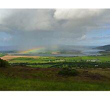 Rainbow over Inch Island Photographic Print