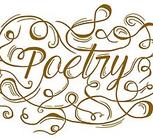 The Art of Poetry (Bronze) by dontchasesheep