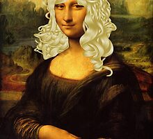 Blonde Mona Lisa  by Mythos57