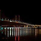 Kessock Bridge at Night by derekbeattie