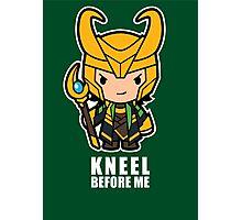 Kneel Before Me Photographic Print