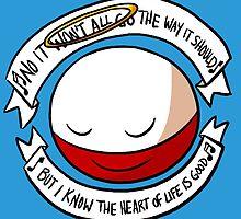 The Heart of Life by pettyartist
