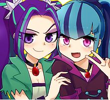 Humanized Aria and Sonata by Cyokora216