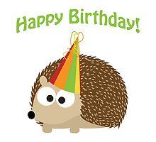 Happy Birthday! Hedgehog by Eggtooth