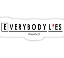 Everybody Lies Sticker