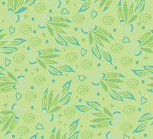 Floral pattern by IraMukti