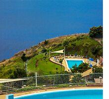 Swimming Pools at the Sea Coast - Travel Photography by JuliaRokicka