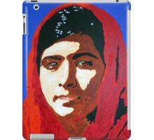 Malala Yousafzai iPad Case/Skin
