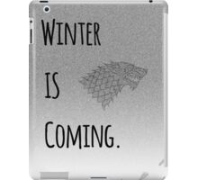 Winter Is Coming iPad Case/Skin