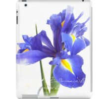 Summer Iris iPad Case/Skin