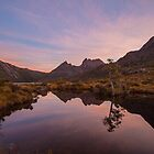 A Sunset @ Tinnies Tarn by tinnieopener