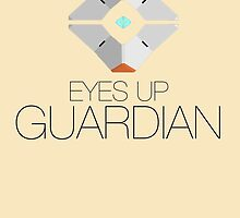 "DESTINY - Ghost ""Eyes up, Guardian"" (BLACK) by WiseOut"