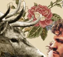 Wendigo Floral Insignia Sticker