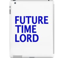 Doctor Who - Future Time Lord iPad Case/Skin