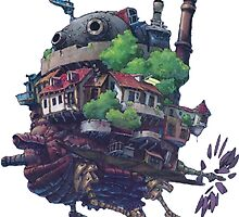 Howl's Moving Castle by emptyglasses