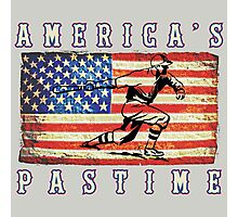 America's Pastime Photographic Print