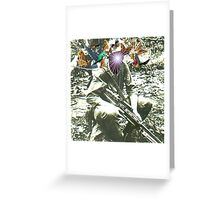 WAR Greeting Card